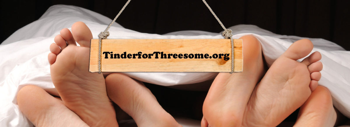 Tinder threesome app like tinder for threesomes only